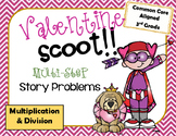 Valentine Multiplcation & Division Scoot