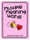 Valentine Multiple Meaning Words