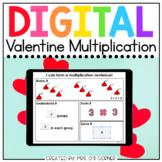 Valentine Multiplication Digital Activity | Distance Learning