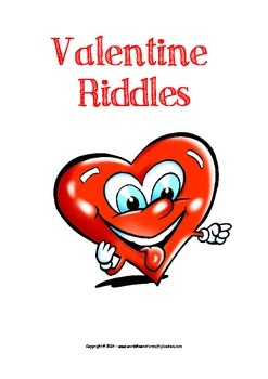 Valentine Multiplication Riddles - Fun printable worksheets