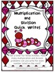 Valentine Multiplication and Division Pack