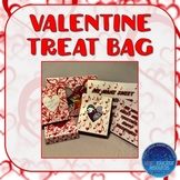 Valentine Music Note Treat Bag