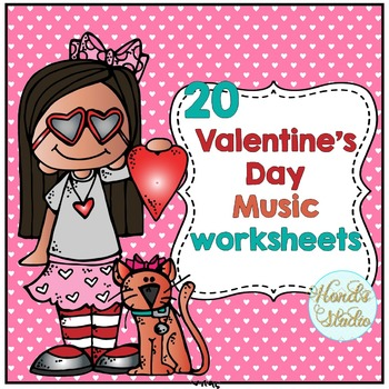 Valentine Music Worksheets