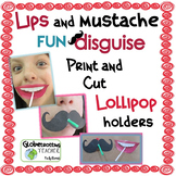 Mustache & Lips Lollipop (for Valentine's Day & so much more)