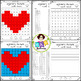 Valentine● Mystery Picture 1 ● Hundreds Chart ● Place Value