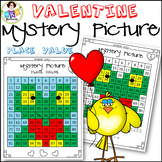 Valentine● Mystery Picture 2 ● Hundreds Chart ● Place Value