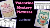 Valentine Mystery Picture- Quadrant I Coordinate Graphing