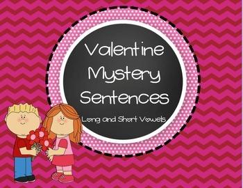 Valentine Mystery Sentences
