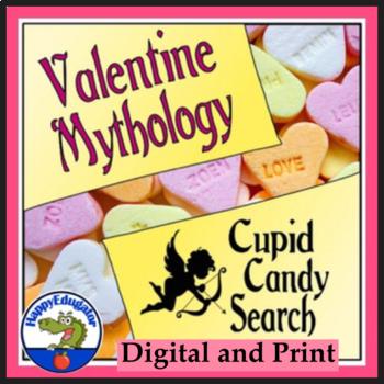 Valentine Mythology - Cupid Candy Search
