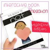 Valentine Negation Interactive Book for Speech Therapy