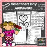 Valentine No Prep Holiday Math Packet: February