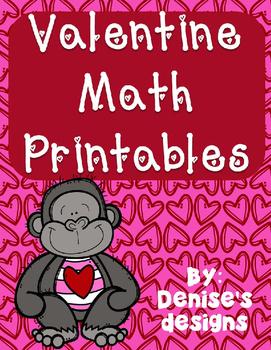 Valentine No Prep Math
