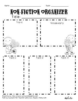 Valentine Non-fiction Graphic Organizer