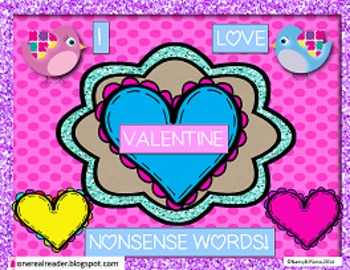 Valentine Nonsense Word Game!