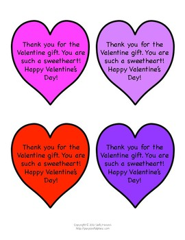 valentine notes for students freebie - Valentines For Students