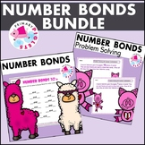 Valentine Number Bond Practice & Problem Solving Sets BUNDLE