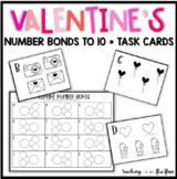 Valentine Number Bond Task Cards