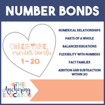 Valentine's Day Number Bonds