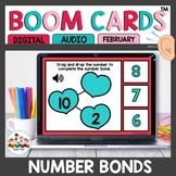 Valentine Number Bonds Boom Cards