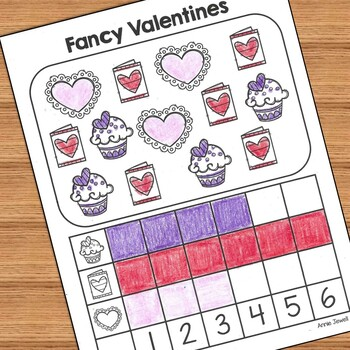 Valentine Kindergarten Math Activities and Worksheets for the Common Core