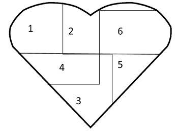 Valentine Number Heart