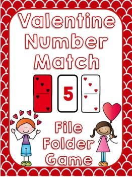 Valentine Number Match