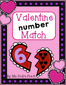 Valentine Number Match