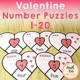 Valentine Number Puzzles 1-20