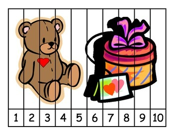Valentine's Day Number Puzzles
