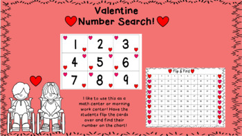 Valentine Number Search!