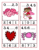 Valentine Number Sequence Clip Cards