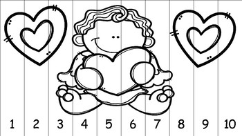 Valentine Number Sequence Puzzle