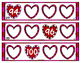 Valentine Number Sequence Wipe It! Cards
