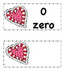 Valentine Numbers 0-9