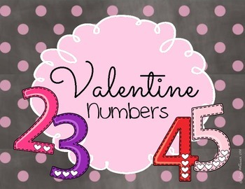 Valentine's Day Numbers 1-10