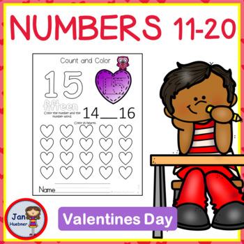 Valentine Numbers 11-20