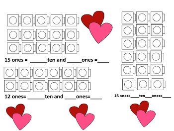 Valentine Numbers and Operations in Base Ten