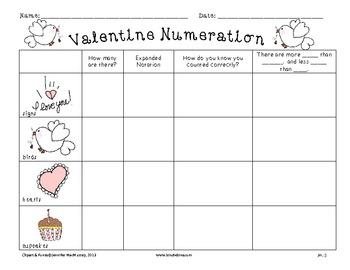 Valentine Numeration