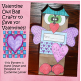 Valentine Owl Bag to Hold Your Valentine's In