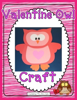 Valentine Owl Craft