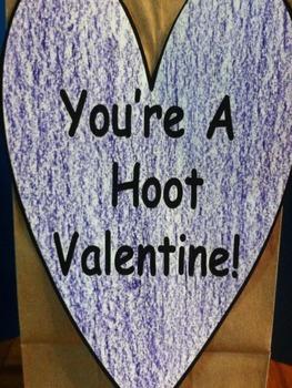 Valentine Owl Holder Craft