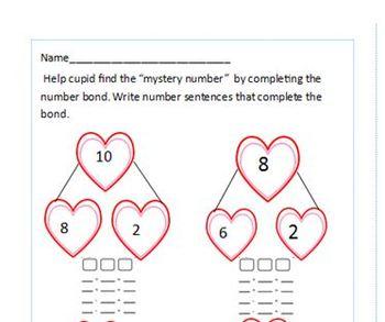 Valentine Packet Grade 1