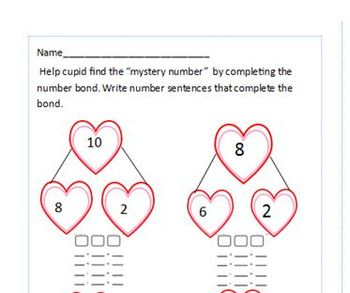 Valentine Packet Grade 1