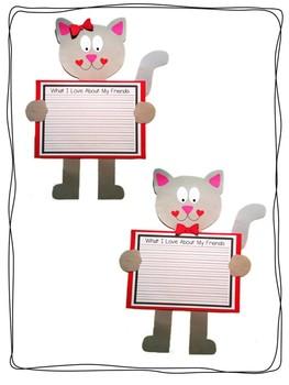 Valentine Pals Craftivity Bundle