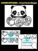 Valentine Panda - Chocolates & Candy  - Moonju Makers, Craft, Valentine's Day
