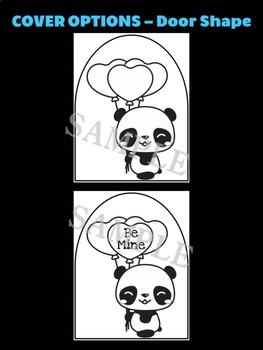 Valentine Panda - Moonju Makers, Activity, Craft, Decor, Valentine's Day, Pandas