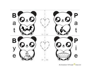 Valentine Panda activity: /b/, /p/ minimal pairs