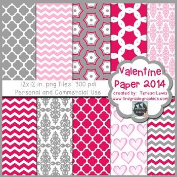 Valentine Paper Pack 2014