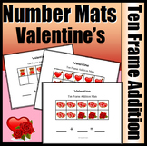 Valentine Part, Part, Whole Addition with Ten Frames (Colo