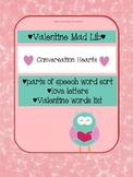Valentine's Mad Lib:  Parts of Speech Word Sort